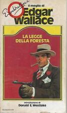 (Edgar Wallace) La legge della foresta 1982 Mondadori il meglio di 2..