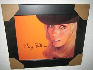 Nancy Sinatra Signed Photograph (8x10) Framed With CoA