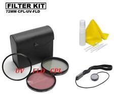 72mm Filter Set for Nikon AF-S 16-80mm f/2.8-4E VR Lens, Nikon AF-S 24-85mm Lens