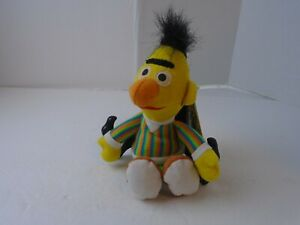 "TYCO Sesame Street BERT 7"" Bean Bag STUFFED ANIMAL Toy 1997 w/Tags S"