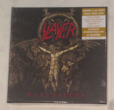 "Slayer - Repentless 6 x 6,66"" Vinyl 6-Single-Boxset GOLD-Vinyl SOLD OUT !!! Orig"