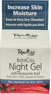 Inter Cell Night Gel by Reviva Labs, 1.25 oz