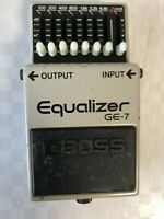 Boss GE-7 Equalizer Guitar Effect Pedal  MIJ  JAPAN  FREE SHIPPING