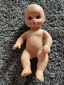 Vintage 1995 Water Baby By Lauer Toys Blonde hair Blue eyes Original Sleeper