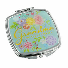 Compact Mirror For Grandma Birthday & Mothers Day Gift ideas for Grandparents