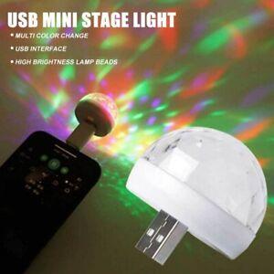 USB Party Light Disco DJ Stage Light LED Portable Ball Light Bar Club Lighting