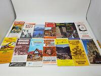 Vintage 1960s 1970s Colorado Travel Brochures Miracle House Marrow Seven Falls