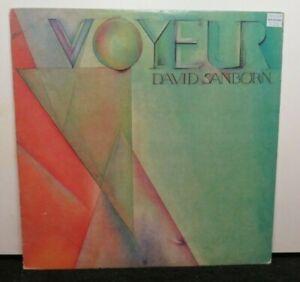 DAVID SANBORN VOYEUR (NM) BSK-3546 LP VINYL RECORD