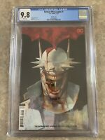 Batman Who Laughs #5 CGC 9.8 NM Viktor Kalvachev Variant Cover DC Joker Villain