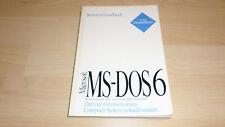 """Handbuch """"MS-DOS6"""", deutsch"""