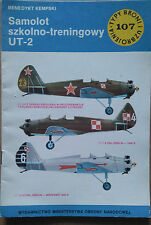 Buch / Book: Typy Broni i Uzbrojenia 107/1986 Samolot szkolno-treningowy UT-2