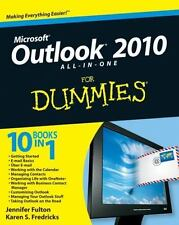 MICROSOFT OUTLOOK 2010 ALL IN ONE FOR DUMMIES  10 BOOK IN 1