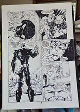 ZEN INTERGALACTIC NINJA THE HUNTED #1 PAGE 3 1993 ORIGINAL COMIC ART-BILL MAUS