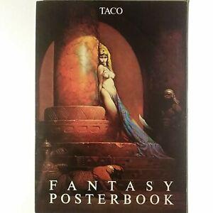 FRAZETTA, BORIS, MORRILL FANTASY POSTERBOOK, 6 PLATE PORTFOLIO, NM-MINT, 1987