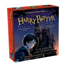Harry Potter Books 1-3: Audio Collection/Stephen Fry - 25 CDs - New/Sealed