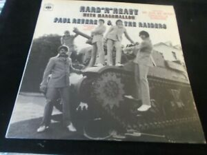 PAUL REVERE AND RAIDERS,HARD N HEAVY,LP ON CBS 63649,1969