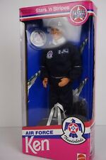 Mattel Stars N Stripes Air Force Thunderbirds Ken (Barbie) Doll 1993 Special Ed.