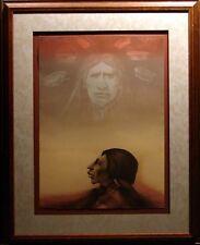 Frank Howell Sky Prophet Hand Signed ORIGINAL LITHOGRAPH Art MAKE OFFER! L@@k