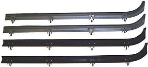 1971-1996 Chevrolet & GMC van new window sweep seals, belt line molding, 4pcs