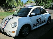 AUTH HERBIE THE LOVE BUG DECAL STICKER KIT ORIGINAL + Side Stripes Included