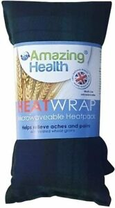 Amazing Health Wheat and Lavender Heat Pack Micro-Hotties UK Made-Tartan Fleece