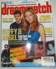 Dreamwatch Magazine Buffy & Angel & Stargate Sg-1 July 2003 040215R