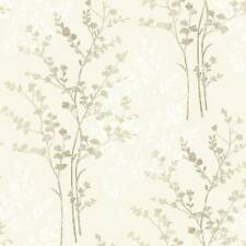 Natural Marrón/Beige/Crema - 250402-Helecho-Tema-Arthouse Wallpaper