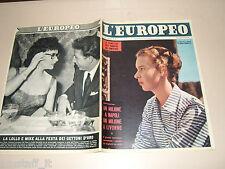 EUROPEO=1956/42=GINA LOLLOBRIGIDA=JAMES DEAN=HENRI GEORGES CLOUZOT FILM VERA=