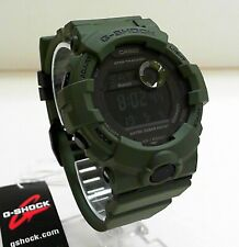 New Casio G-Shock GBD-800UC-3 Olive Green Step Tracker Dual Time G-Squad Watch