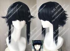 cosplay wig NARUTO Hyūga Hinata Blue-black hair Japanese anime wigs Party wigs