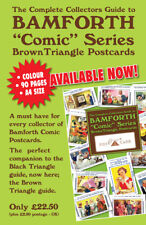 BAMFORTH BROWN TRIANGLE COMIC  COLLECTORS  GUIDE SHOWN IN COLOUR 90 PAGES  NEW
