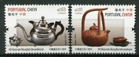 Portugal 2019 MNH Teapots JIS China 2v Set Artefacts Cultures Traditions Stamps