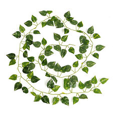 Artificial Ivy Leaf Green Garland Foliage 2M Home Party Decor Decoration