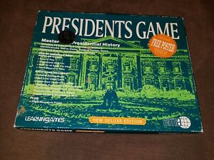 Vintage Presidents Game New Deluxe Edition by Learningames
