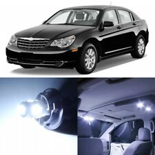 12 x Xenon White Interior LED Light Package For 2007-2010 Chrysler Sebring +TOOL