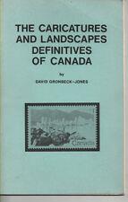 Philatelic Literature Caricatures & Landscapes Definitives of Canada 1972/3 book