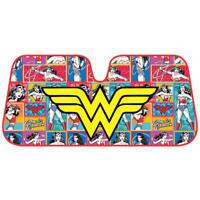 Wonder Woman Retro Comic Strip Car Auto Sun Shade Windshield Light Blocker