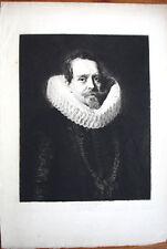 D'APRES RUBENS -JEAN CHARLES DE CORDES-GRAVURE PAR CH.WALTNER- REVUE L'ART 19
