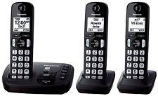 Panasonic Kx-Tgd223N Black (Kx-Tgd223B) Dect 6.0 Cordless Phone System