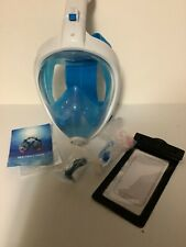 X Lounger Full Face Snorkel mask, lot of 3
