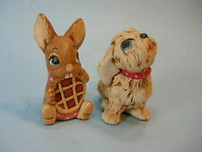 2 Pendelfin Bunnies .Picnic Midge & Tammy