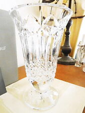 """Waterford Crystal BALMORAL 10"""" Vase - MADE IN IRELAND - NEW / BOX!"""