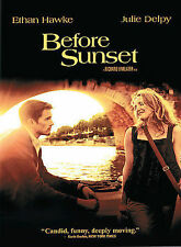 Richard Linklater Before Sunset Like New Dvd Ethan Hawke, Julie Delpy Widescreen