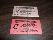 NEW YORK WESTCHESTER & BOSTON RAILWAY NYW&B LARCHMONT ZONE TICKETS