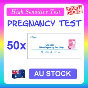 50 x Pregnancy Test Strips (HCG) Urine Fertility Kit HPT High Sensitive Early