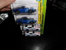 4 CAR LOT HOT WHEELS NISSAN FAIRLADY Z HW SPEED GRAPHICS & DATSUN 240Z WORKSHOP