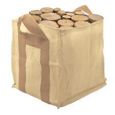 Mini Bulk Bag Garden Bin Sandbag Builders Firewood Briquette Logs Garden Waste
