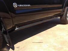 N-FAB Rock-Rails Side Step Bars - Matte Black 2005-2014 Toyota Tacoma Access Cab