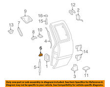 GM OEM Front Door-Lock Rod Clip 16640343
