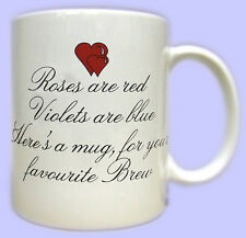 LOVE POEM GIFT MUG - Boyfriend Girlfriend Husband Wife